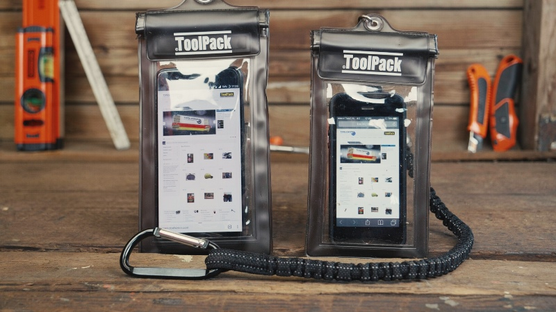 PROTECT & CONNECT, ToolPack phone protection set