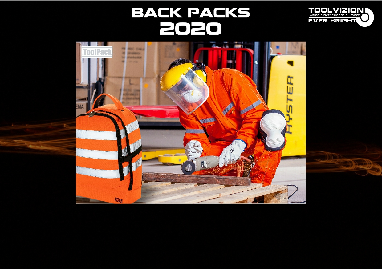 AUGUST 2020, ToolPack multi-use tool back-packs